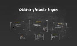 Child Anxiety Prevention Program