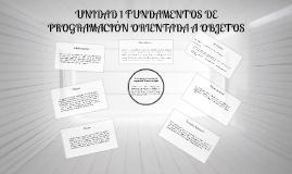 1.2 Conceptos fundamentales de la Programación Orientada a O