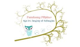 Panulaang Pilipino