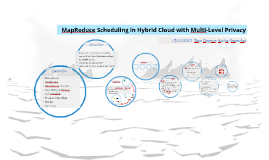 MapReduce Scheduling in Hybrid Cloud with Multi-Level Privacy