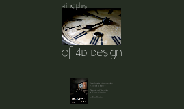 Principles of 4D Design