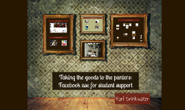Facebook use for student support
