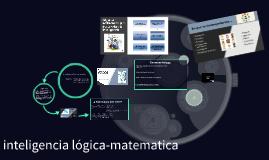 La inteligancia logica matematica