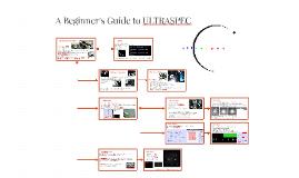 A Beginner's Guide to ULTRASPEC