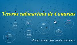 Tesoros submarinos de Canarias