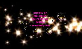 HISTORY OF PHILIPPINE EDUCATIONAL SYSTEM - TeacherPH.com