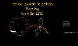 Senior Course Selection 2015