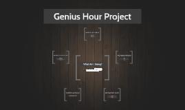 "Genius Hour Project (""Shark Tank"") Preparation"