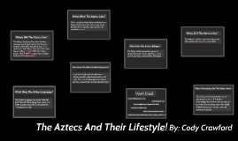 The Aztecs And Their Lifestyle!