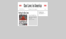 Gun Laws in America