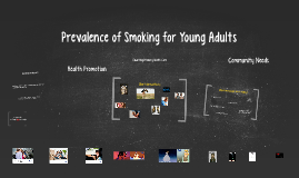 Prevelance of Smoking for Young Adults