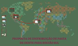 DISTRIBUIÇÃO DE PASTA DE DENTE