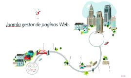 Joomla gestor de paginas Web
