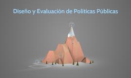 Diseño y Evaluación de Políticas Públicas