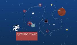 EJEMPLO CLASE