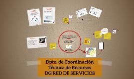 Dpto. de Coordinación Técnica de Recursos