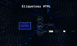 Etiqueteas HTML