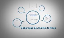 Copy of Elaboração de Análise de Risco