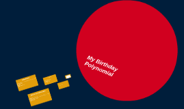 My Birthday Poltnomial