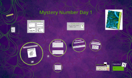 Mystery number Day 1