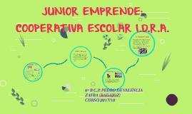 JUNIOR EMPRENDE: COOPERATIVA ESCOLAR IDRA