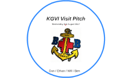 KGVI Visit Sales Pitch