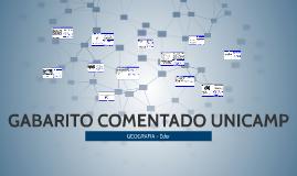 GABARITO COMENTADO UNICAMP