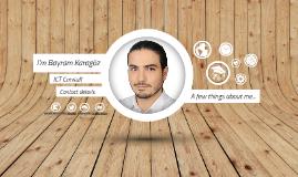 Bayram Karagöz - Visual CV