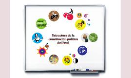 Copy of Estructura de la Constitución Politica del Perú
