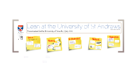 Lean at St Andrews for the University of Lincoln
