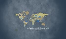 Haiti: Le Tremblement de Terre de 2010
