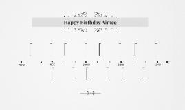 Happy Birthday Aimee