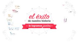 EL ÉXITO DE NUESTRA  HISTORIA