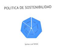 POLITICA DE SOSTENIBILIDAD