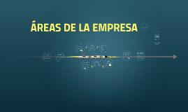 Copy of ÁREAS DE LA EMPRESA