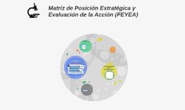 Matriz de Posición Estratégica y Evaluación de la Acción (PE