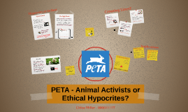 PETA - Animal Activists or Ethical Hypocrites?