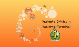Paciente Critico y Paciente Terminal