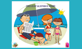 Copy of Consejos de salud para este verano