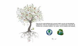 PROYECTO COMUNITARIO DE CONSULTORÍA SOCIAL EN INGENIERÍA AMB