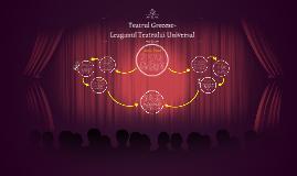 Teatrul a fost creat de greci în secolul V î.Hr. S-a născut