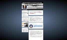 EISENHOWER'S COLD WAR POLICIES