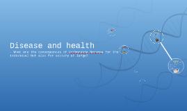 Disease and health