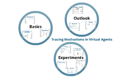 Tracing Motivations in Virtual Agents