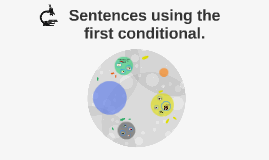 Sentences using the first conditional.