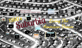 Copy of Suburbia: The 1950s