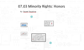 Copy of 07.03 Minority Rights: Honors