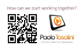 Paolo Tosolini's interactive Prezi resume (prezume)