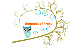 elements of prose The elements of prose we create natural beauty after years of meticulous testing and refining, we've arrived at a portfolio of 76 highly effective, natural ingredients all organic or.