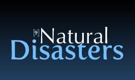 Natural Disasters - Peichun Tang
